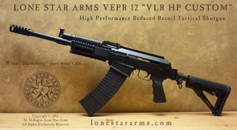 Lone Star Arms Vepr 12 Low Recoil High Performance Shotgun 2