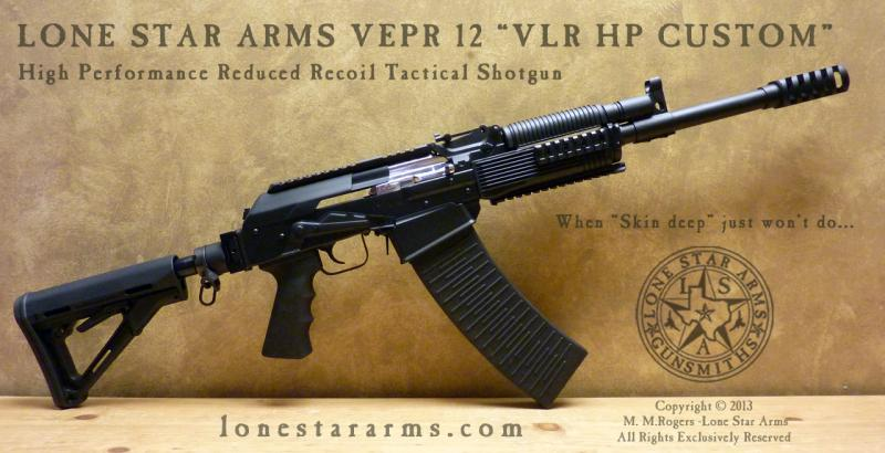 Lone Star Arms Vepr 12 Low Recoil High Performance Shotgun