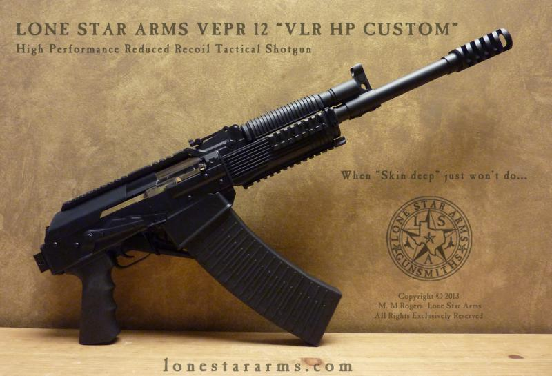 Lone Star Arms Vepr 12 Low Recoil High Performance Shotgun 4
